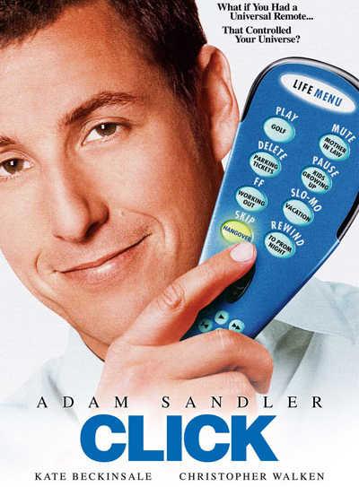 Click Perdiendo el control Adam Sandler